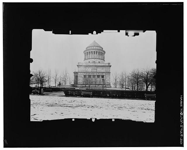 20.  EAST (SOUTH) FACADE--INCLINED Copy photograph of photogrammetric plate LC-HABS-GS05-T-2564-104R. - Grant's Monument, Riverside Drive & West 122nd Street, New York, New York County, NY