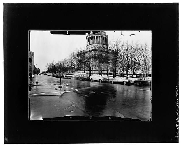 21.  NE CORNER ELEVATIONS--ANGLED VIEW Copy photograph of photogrammetric plate LC-HABS-GS05-T-2564-105L. - Grant's Monument, Riverside Drive & West 122nd Street, New York, New York County, NY