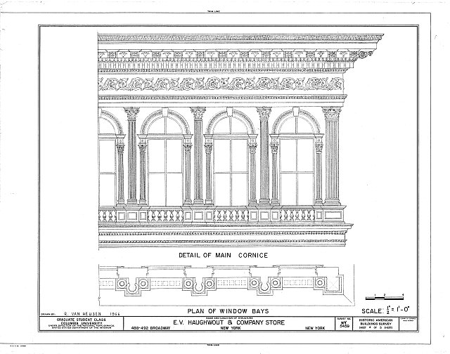 HABS NY,31-NEYO,70- (sheet 4 of 5) - E. V. Haughwout & Company Building, 488-492 Broadway, New York, New York County, NY