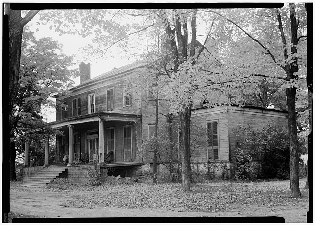 1.  Historic American Buildings Survey, Nelson E. Baldwin, Photographer Jan. 16, 1937, View-Proper House-South of Hudson, Township of Livingston-(See back of photograph for description). - Livingston House, State Route 9E, Livingston Township, Hudson, Columbia County, NY