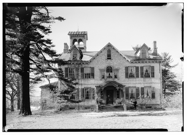 1.  Historic American Buildings Survey, Nelson E. Baldwin, Photographer Jan. 16, 1937, View-Southeast Elevation-Lindenwald Home of Martin Van Buren, Kinderhook, N.Y. - Lindenwald, 1013 Old Post Road, Kinderhook, Columbia County, NY