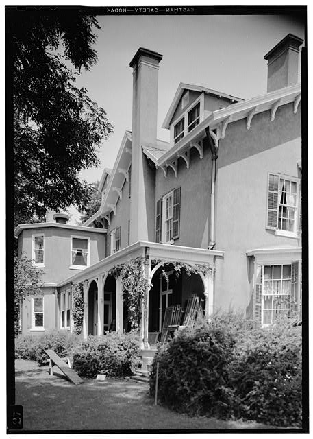12.  Exterior of West Facade, July 1941. - Springwood, Hyde Park, Dutchess County, NY