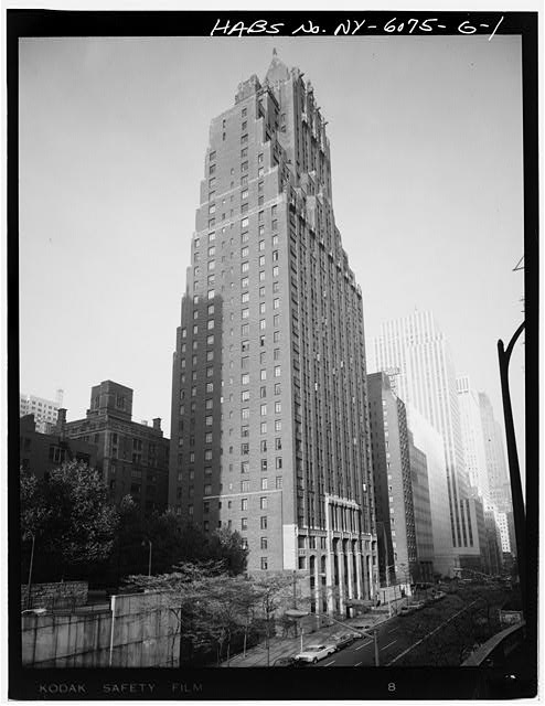 1.  PERSPECTIVE VIEW OF 42ND STREET ELEVATION - Tudor City Complex, Woodstock Tower, 320 East Forty-second Street, New York, New York County, NY