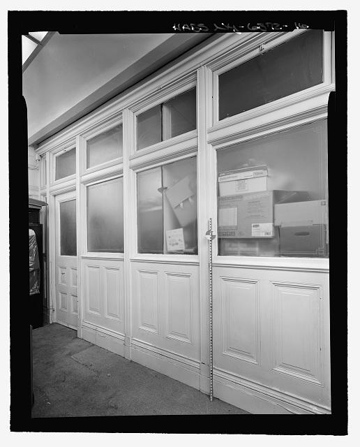 Room 706, Interior Partition (with measuring stick) - Corbin Building, 11 John Street, New York, New York County, NY