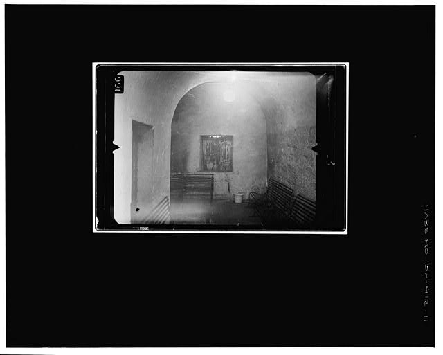 11.  JAIL CORRIDOR Copy photograph of photogrammetric plate LC-HABS-GS07-T-810-612L. - Old Perry County Courthouse, Town Square, Somerset, Perry County, OH