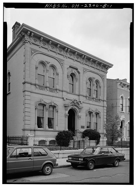 1.  SOUTH FRONT - Skaats-Hauck House, 812 Dayton Street, Cincinnati, Hamilton County, OH