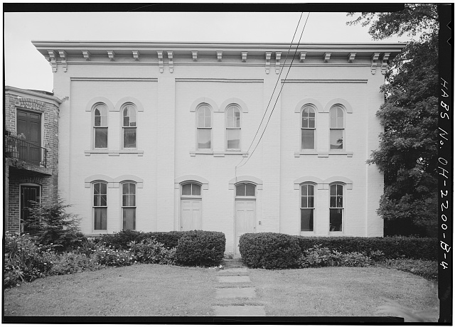 13.  CARRIAGE HOUSE, SOUTH FRONT - Skaats-Hauck House, 812 Dayton Street, Cincinnati, Hamilton County, OH