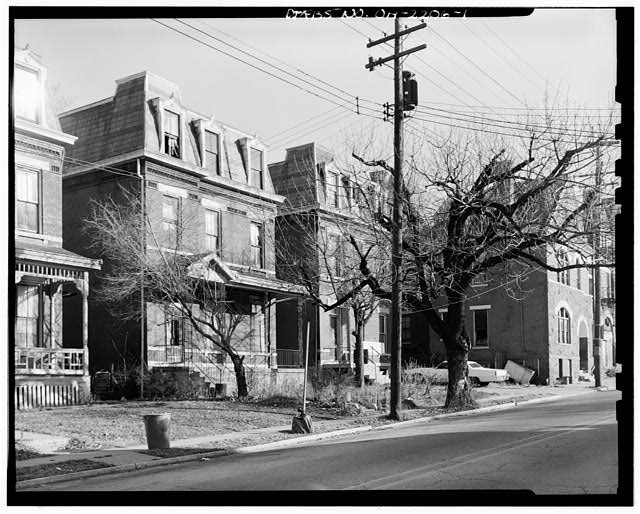 1.  VIEW OF STREETSCAPE LOOKING NORTHEAST - Cooksey House, 856 Lincoln Avenue, Cincinnati, Hamilton County, OH