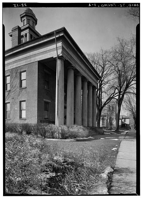 2.  Historic American Buildings Survey, Carl F. Waite, Photographer April, 1934 DETAIL OF FRONT ELEVATION. - Sandusky County Courthouse, South Park Street, Fremont, Sandusky County, OH