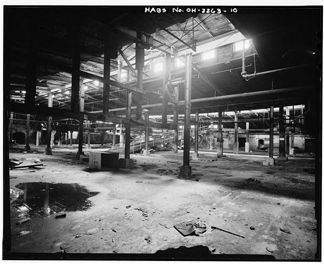 10.  BASEMENT VIEW - American Oak Leather Company, 1220-1236 Kenner Street, Cincinnati, Hamilton County, OH