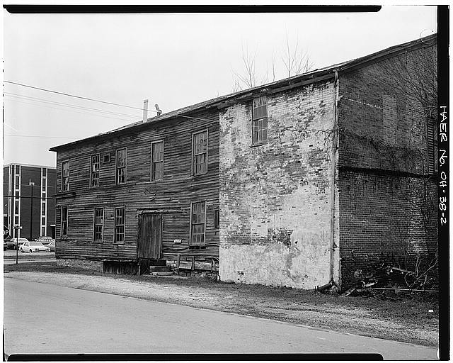 2.  VIEW, LOOKING NORTHWEST, OF SOUTH ELEVATION - Bidwell & Gallagher Factory, 315 Bidwell Avenue, Fremont, Sandusky County, OH