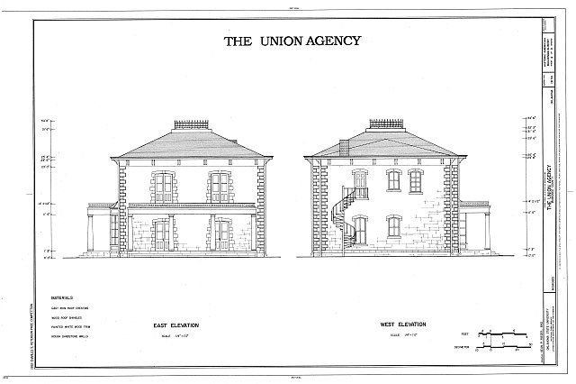 HABS OKLA,51-MUSK,3- (sheet 4 of 9) - The Union Agency, Honor Heights Park, Muskogee, Muskogee County, OK