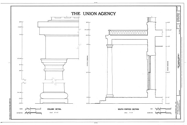 HABS OKLA,51-MUSK,3- (sheet 9 of 9) - The Union Agency, Honor Heights Park, Muskogee, Muskogee County, OK