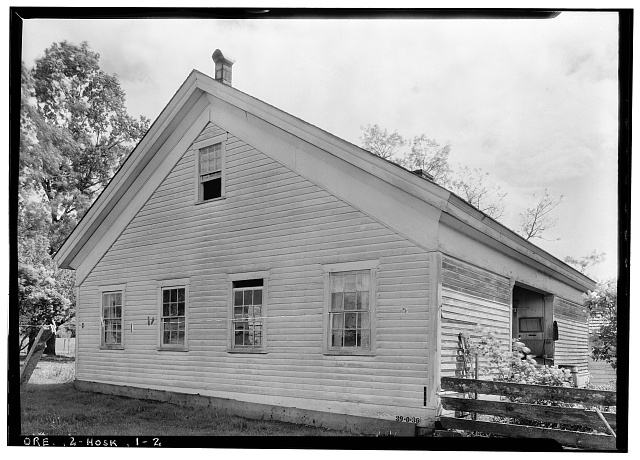 2.  Historic American Buildings Survey, 1934. - James Watson House, Hoskins, Benton County, OR