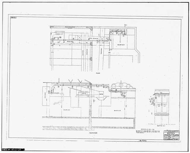 39  photocopy of scale drawing  from station  u0026 39 l u0026 39  office