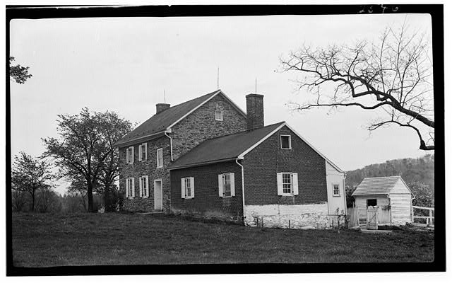 2.  Historic American Buildings Survey, c. 1935 GENERAL VIEW. - Bushman House, Gettysburg, Adams County, PA