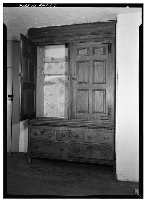 6.  SECOND FLOOR, CLOTHES PRESS - Morriseianna, State Route 41 (London Grove Township), Chatham, Chester County, PA
