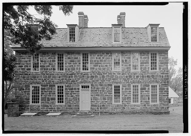 NORTHWEST ELEVATION, WITH SCALE  - Graeme Park, 859 County Line Road, Horsham, Montgomery County, PA