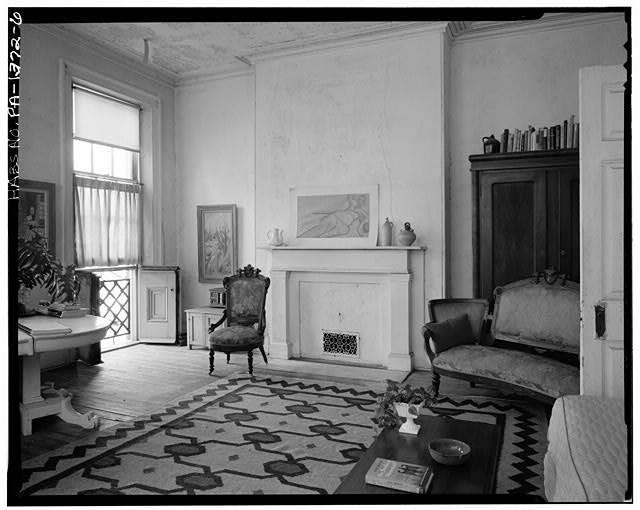 6.  INTERIOR, FRONT ROOM, SECOND FLOOR - Thomas Sully House, 530 Spruce Street, Philadelphia, Philadelphia County, PA