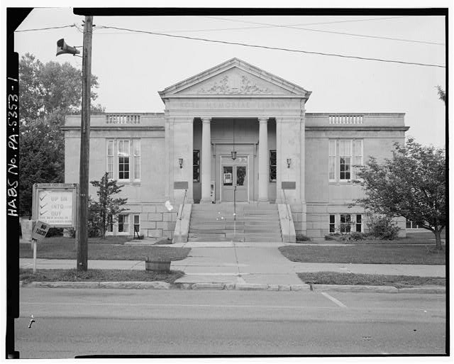 - Ross Memorial Library Building, Main Street between Sixth & Seventh Avenues, 1 mile north of Interstate 80, Exit 9, Clarion, Clarion County, PA
