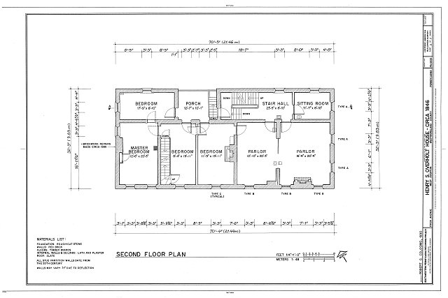 HABS PA,65-OVTW,10- (sheet 3 of 7) - Henry S. Overton House, 1526 Frick Avenue, West Overton, Westmoreland County, PA