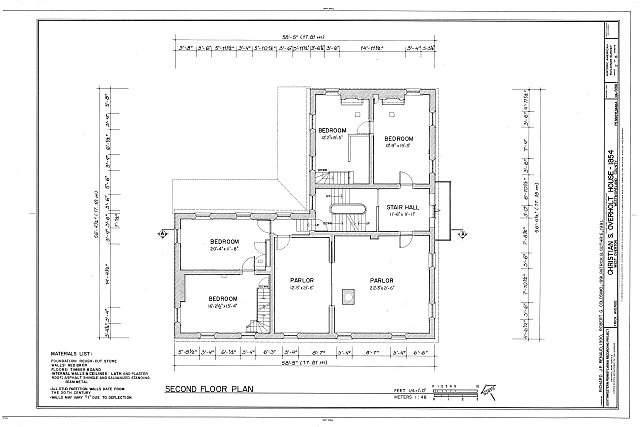 HABS PA,65-OVTW,9- (sheet 2 of 6) - Christian S. Overholt Store & House, Frick Avenue, West Overton, Westmoreland County, PA