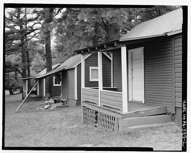 Cabins.  Looking NW. - Shorty's Place, Needmore, Fulton County, PA