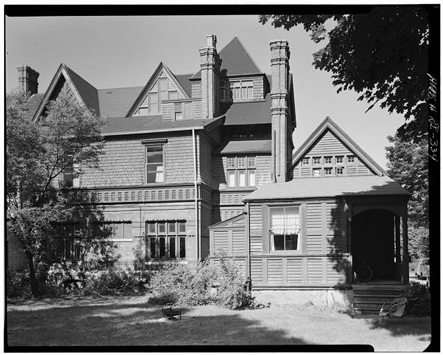 2.  Historic American Buildings Survey, Cervin Robinson, Photographer July 24, 1970 VIEW OF EXTERIOR FROM EAST. - Charles H. Baldwin House, Bellevue Avenue, Newport, Newport County, RI