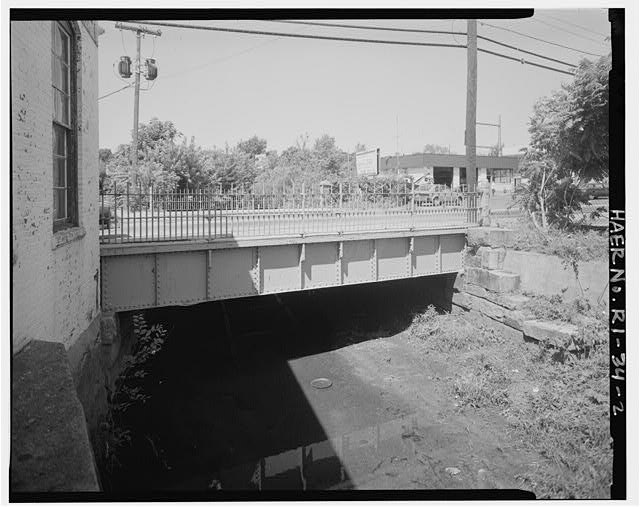 2.  VIEW LOOKING NORTHWEST TOWARD BRIDGE - Charles Street Bridge, Spanning West River on Charles Street, Providence, Providence County, RI