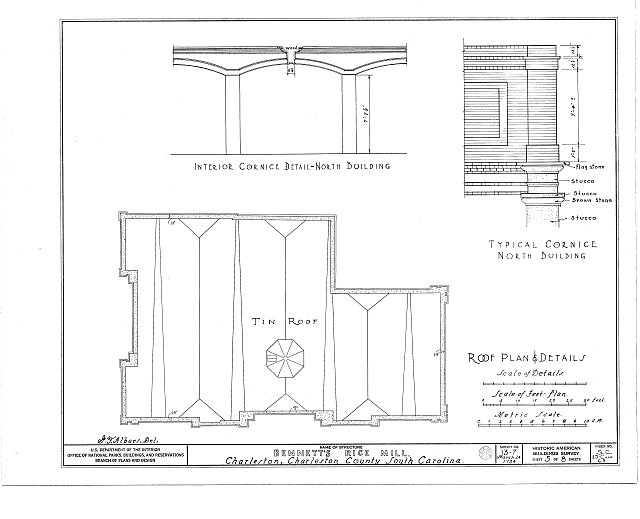 HABS SC,10-CHAR,65-[1992(HABS):SC-1] (sheet 5 of 8) - Bennett's Rice Mill, Between East Bay, Hasell, Concord & Laurens Streets, Charleston, Charleston County, SC