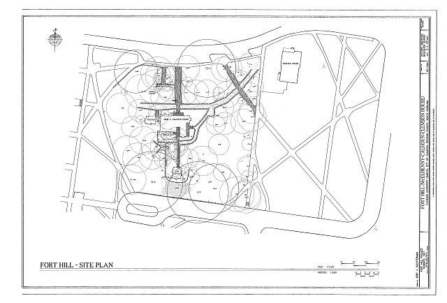 HABS SC,39-CLEM,1- (sheet 2 of 28) - Fort Hill, Clemson University Campus, Clemson, Pickens County, SC