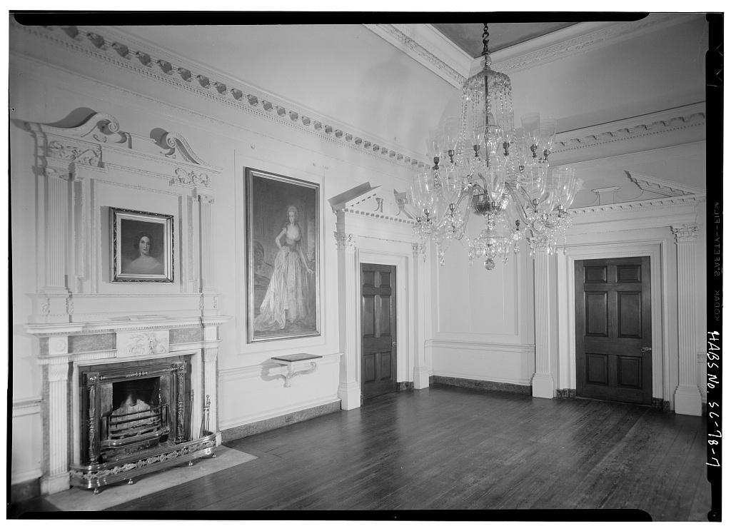 Flooring Services Charleston Sc : Interior second floor ball room southeast corner