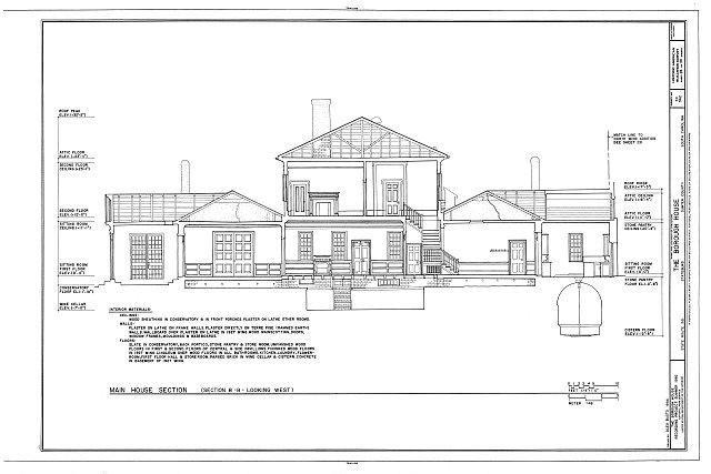 HABS SC,43-STATBU,1- (sheet 26 of 30) - Borough House, West Side State Route 261, about .1 mile south side of junction with old Garners Ferry Road, Stateburg, Sumter County, SC