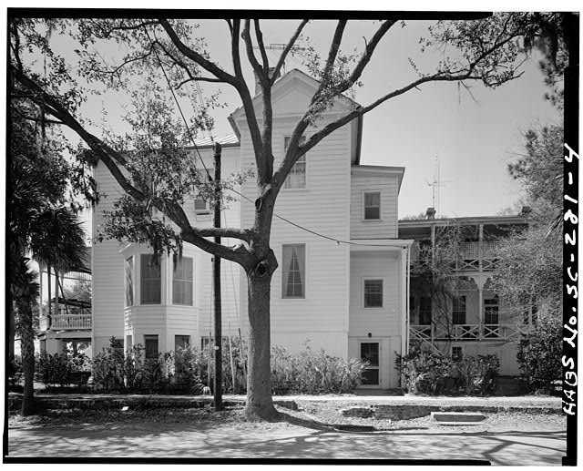 4.  EAST SIDE - John Cuthbert House, 1203 Bay Street, Beaufort, Beaufort County, SC