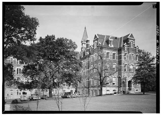 2.  North and west sides - Fisk University, Jubilee Hall, Seventeenth Avenue, North, Nashville, Davidson County, TN