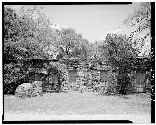 2.  INDIAN APARTMENTS - Mission San Jose y San Miguel de Aguayo, Ramparts, 6539 San Jose Road, San Antonio, Bexar County, TX