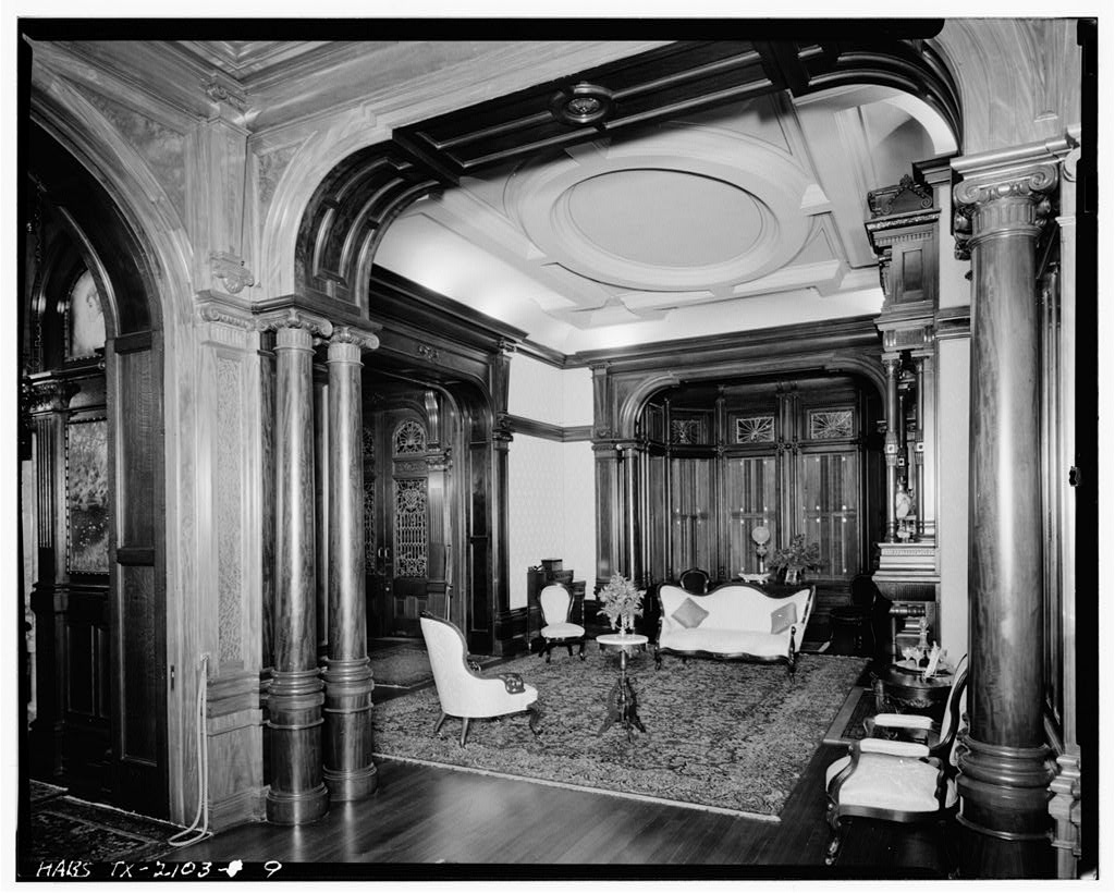 9 Interior View Of Parlor Colonel Walter Gresham House