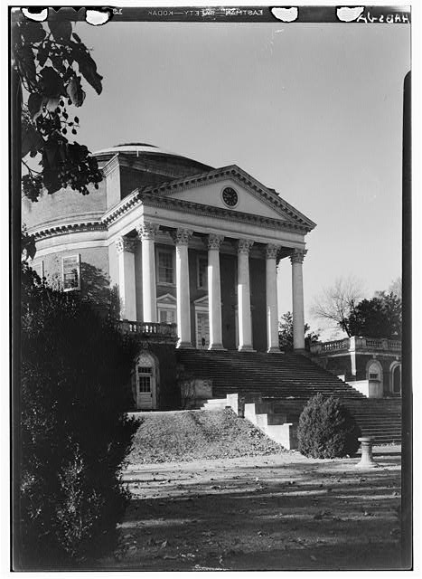 - University of Virginia, Rotunda, University Avenue & Rugby Road, Charlottesville, Charlottesville, VA