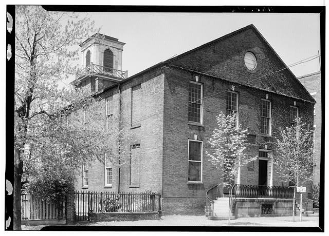 - Presbyterian Meetinghouse, 321 South Fairfax Street, Alexandria, Independent City, VA