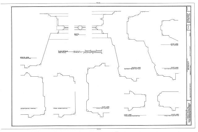 HABS VA,19-CHARC.V,4- (sheet 16 of 16) - Berkeley, State Route 5 vicinity, Charles City, Charles City, VA