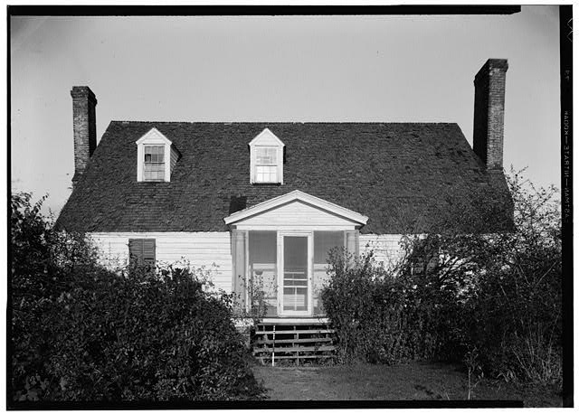 "- Frame House & Kitchen ""Bowlers"", State Route 684, Center Cross, Essex County, VA"