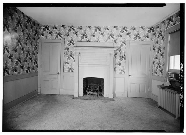 3.  INTERIOR, DINING ROOM - George F. Rollins House, 109 East Columbia Street, Falls Church, Falls Church, VA