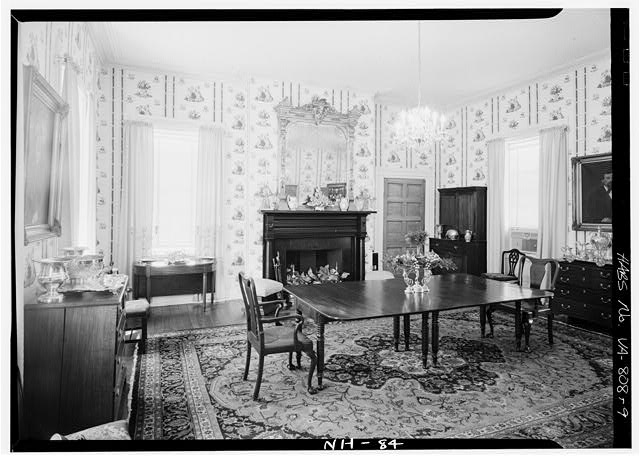9.  INTERIOR, DINING ROOM - Cessford, U.S. Route 13, Eastville, Northampton County, VA