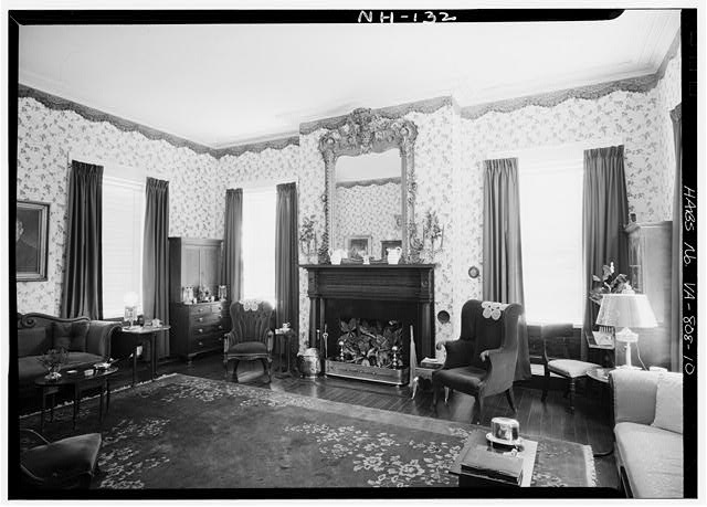 10.  INTERIOR, PARLOR - Cessford, U.S. Route 13, Eastville, Northampton County, VA