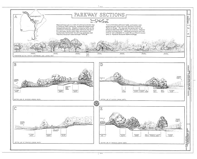 HAER VA,30-____,8- (sheet 18 of 21) - George Washington Memorial Parkway, Along Potomac River from McLean to Mount Vernon, VA, Mount Vernon, Fairfax County, VA