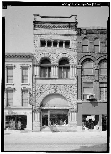 1.  EAST FRONT - Bank of Wheeling, 1229 Main Street, Wheeling, Ohio County, WV