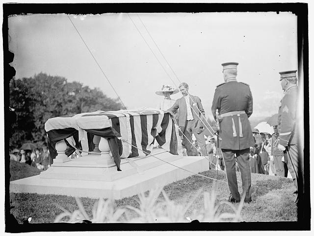 L'ENFANT, PIERRE. MAJOR OF FRANCE. DEDICATION OF TOMB AND MEMORIAL AT ARLINGTON, APRIL 28, 1909