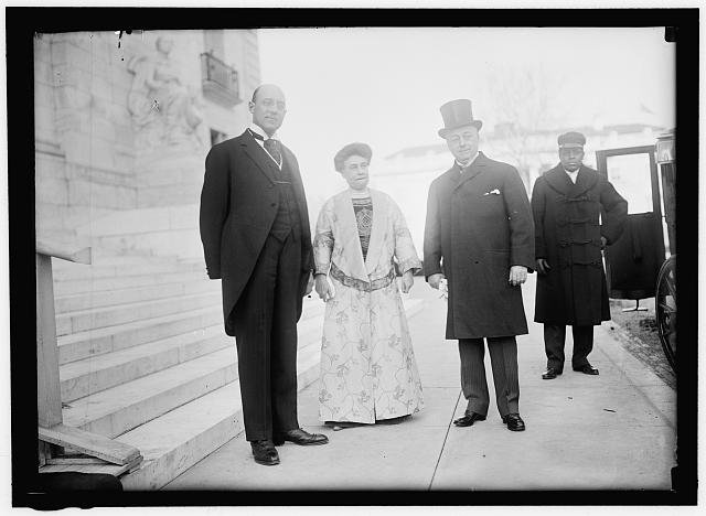NEW YEARS BREAKFASTS, PAN AMERICAN UNION. JOHN BARRETT; MRS. KNOX; SECRETARY KNOX