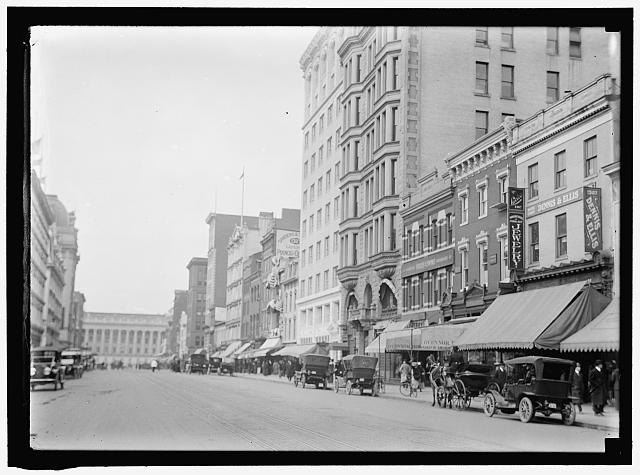 [Street view, Washington, D.C.]