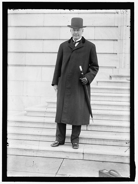 BURLESON, ALBERT SIDNEY. REP. FROM TEXAS, 1899-1913; POSTMASTER GENERAL, 1913-1921